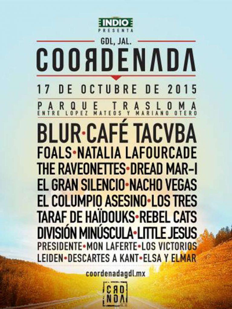 Coordenada 2015 | México Festival de Música