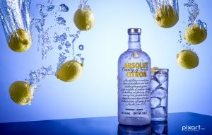 Absolut Citron | Fotografía Comercial de Bebidas