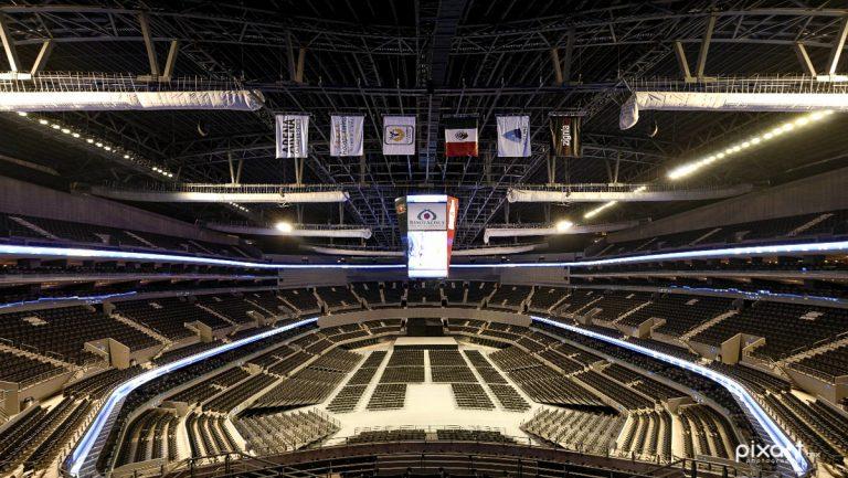 Vista desde mi lugar en la Arena Ciudad de Mexico para SuperBoletos