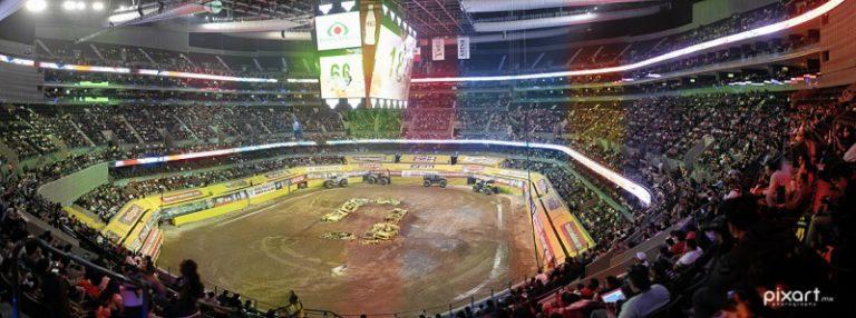 Monsters Jam | Arena Ciudad de Mexico | Fotografía en Gigapixeles