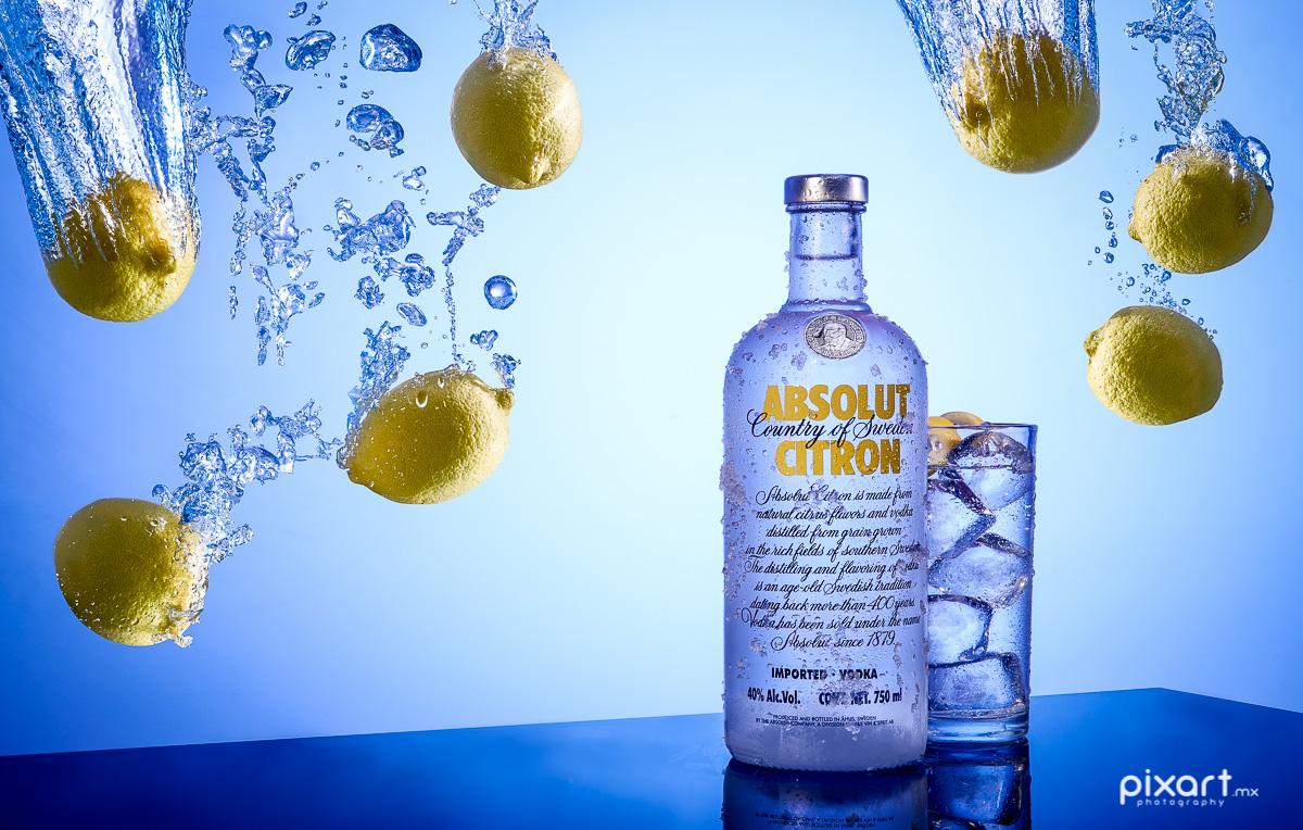 Absolut Citron Commercial Beverages Photography Pixart